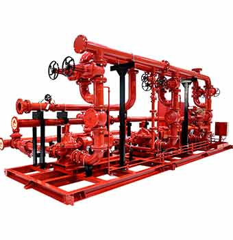Industrial-Packaged-Fire-Pump-Sets